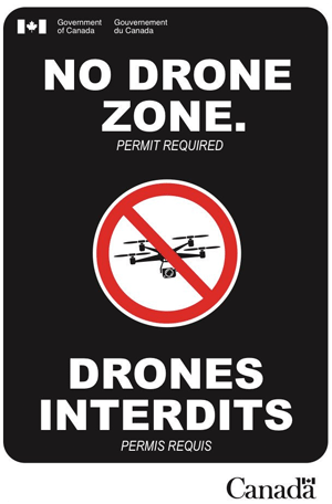 Airports are considered No Drone Zone and permit is required
